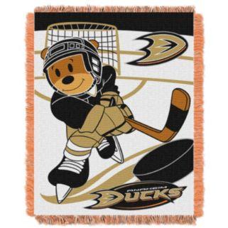 Anaheim Ducks Baby Jacquard Throw