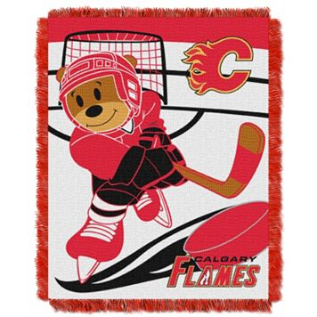 Calgary Flames Baby Jacquard Throw
