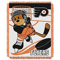 Philadelphia Flyers Baby Jacquard Throw