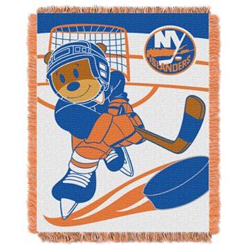 New York Islanders Baby Jacquard Throw