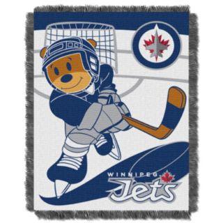 Winnipeg Jets Baby Jacquard Throw