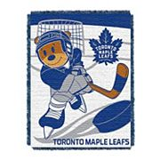 Toronto Maple Leafs Baby Jacquard Throw