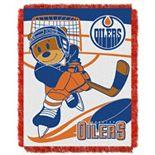 Edmonton Oilers Baby Jacquard Throw