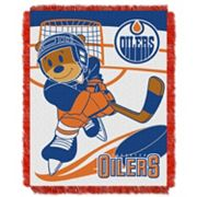 Edmonton Oilers Baby Jacquard Throw