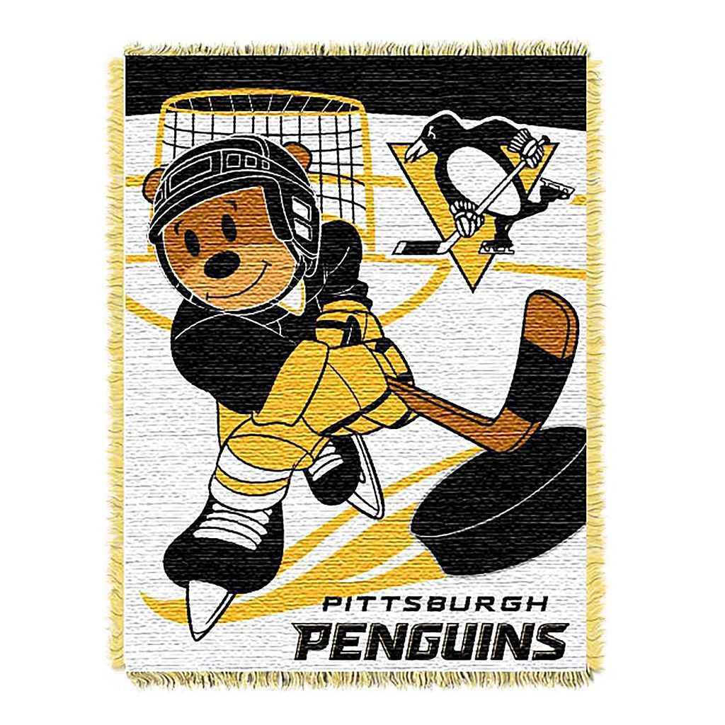 Pittsburgh Penguins Baby Jacquard Throw
