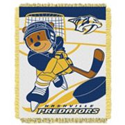 Nashville Predators Baby Jacquard Throw