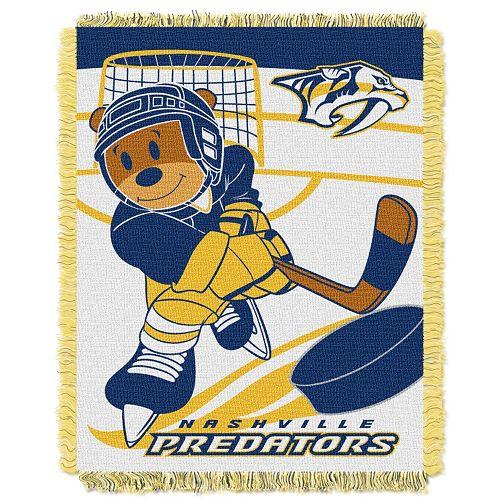 Nashville Predators Baby Jacquard Throw