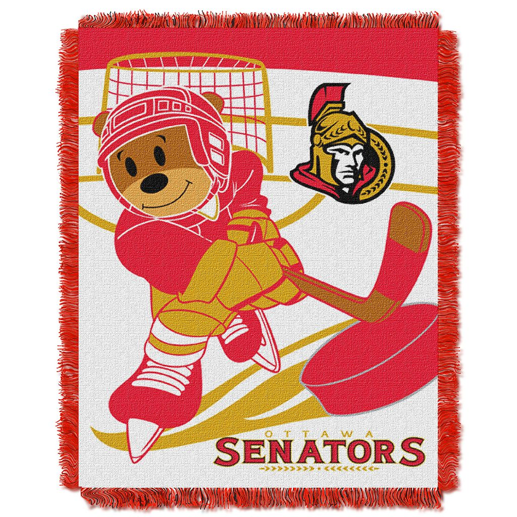 Ottawa Senators Baby Jacquard Throw