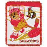 Ottawa Senators Baby Jacquard Throw