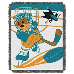 San Jose Sharks Baby Jacquard Throw