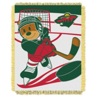 Minnesota Wild Baby Jacquard Throw