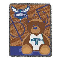 Charlotte Hornets Baby Jacquard Throw