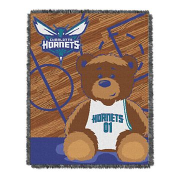 Charlotte Hornets Baby Jacquard Throw