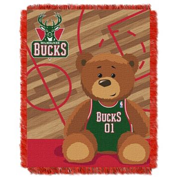 Milwaukee Bucks Baby Jacquard Throw