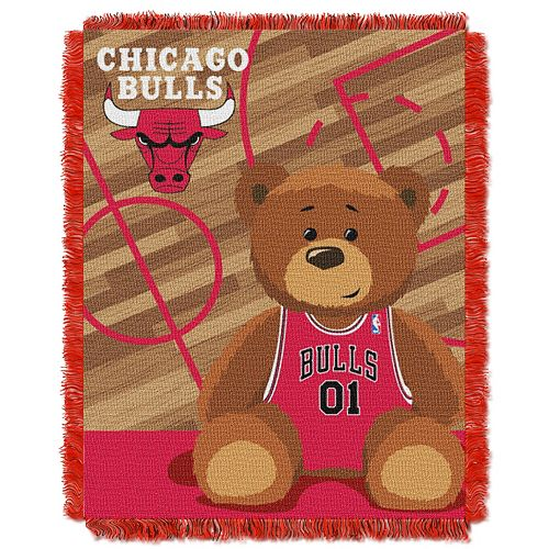Chicago Bulls Baby Jacquard Throw