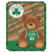 Boston Celtics Baby Jacquard Throw
