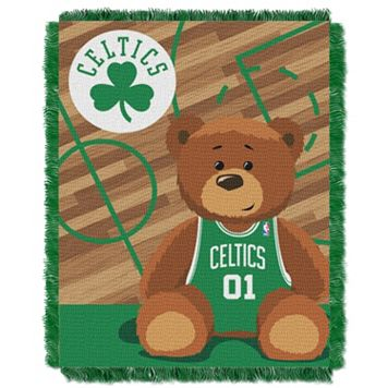 Boston Celtics Baby Jacquard Throw