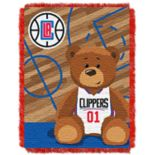Los Angeles Clippers Baby Jacquard Throw
