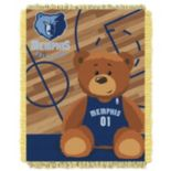 Memphis Grizzlies Baby Jacquard Throw