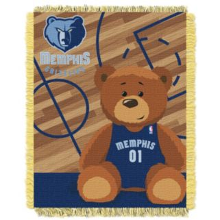 Memphis Grizzlies Baby Jacquard Throw