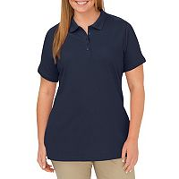 Plus Size Dickies Solid Pique Polo