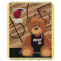Miami Heat Baby Jacquard Throw