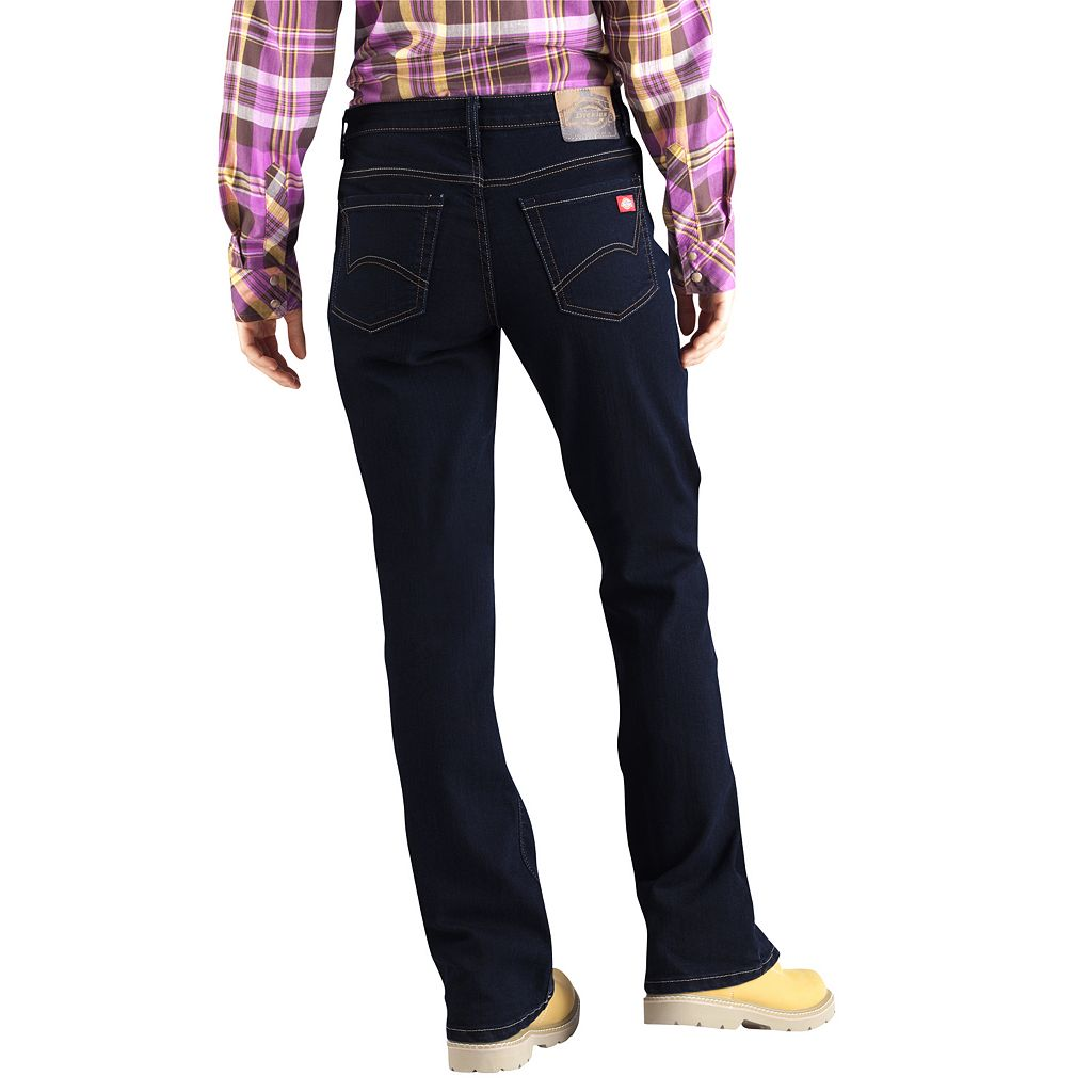 Plus Size Dickies Relaxed Fit Bootcut Jeans