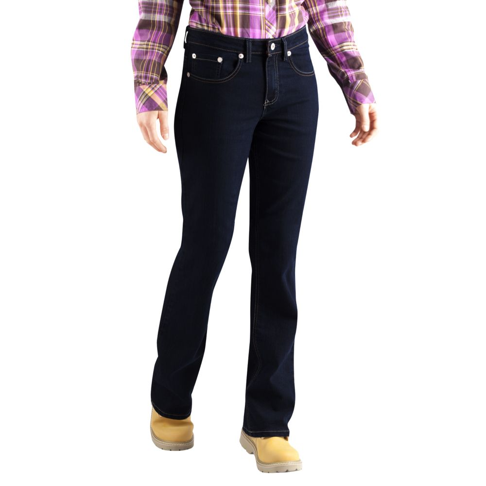 Size Dickies Relaxed Fit Bootcut Jeans