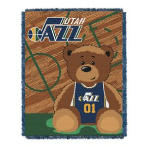 Utah Jazz Baby Jacquard Throw