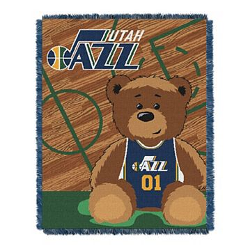 Utah Jazz Baby Jacquard Throw