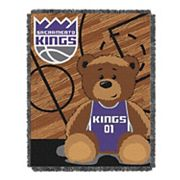 Sacramento Kings Baby Jacquard Throw