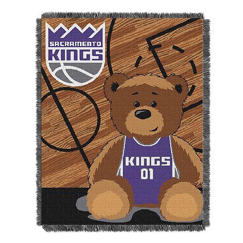 Sacramento Kings Baby Jacquard Throw