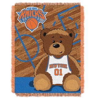 New York Knicks Baby Jacquard Throw