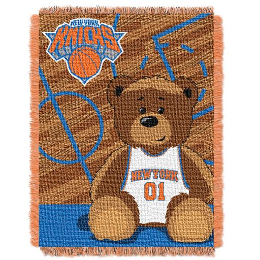 New York Knicks Baby Jacquard Throw