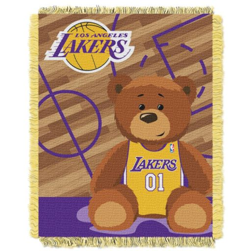Los Angeles Lakers Baby Jacquard Throw
