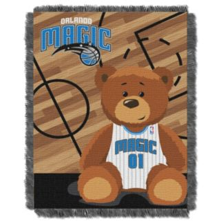Orlando Magic Baby Jacquard Throw