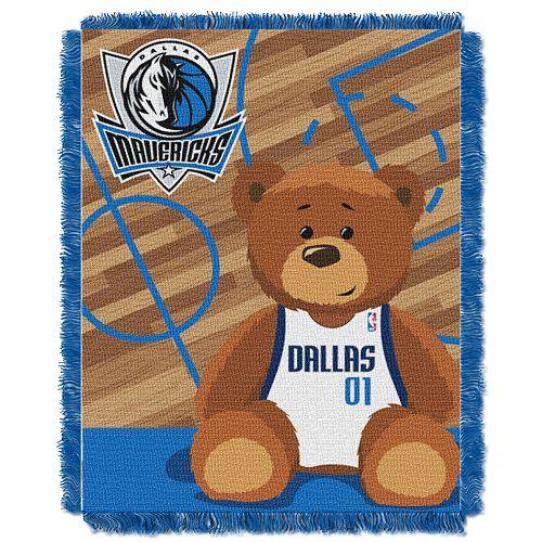 Dallas Mavericks Baby Jacquard Throw