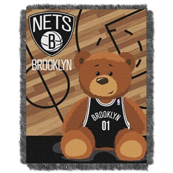 Brooklyn Nets Baby Jacquard Throw