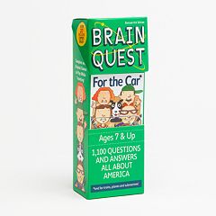 Brain Quest For the Car Game
