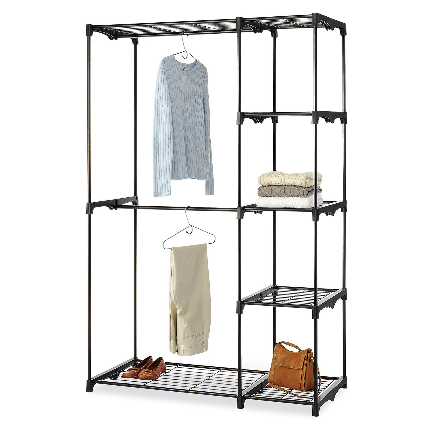 Whitmor Double Rod Closet