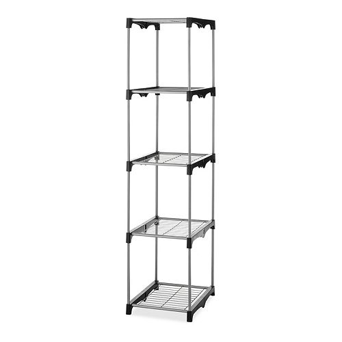 Whitmor 5-Tier Closet Tower