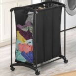 Whitmor Triple Sorter Laundry Hamper