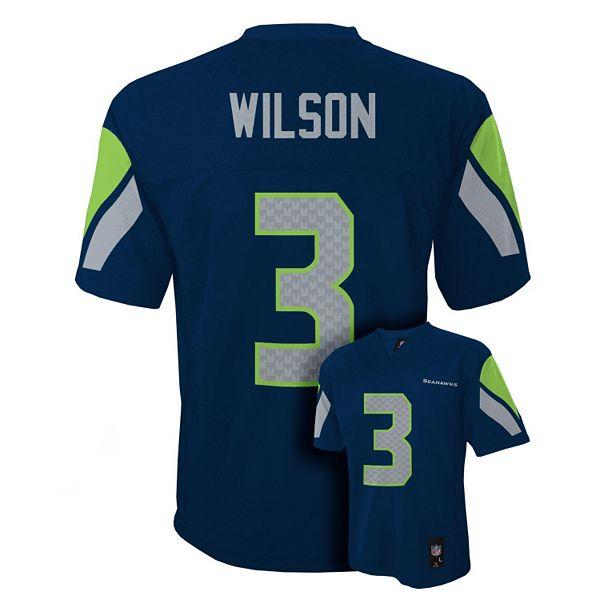 Seattle Seahawks Russell Wilson NFL Jersey - Boys 8-20