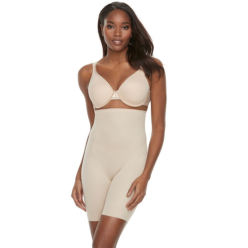 Naomi and Nicole Soft and Smooth High-Waist Thigh Slimmer 7759 - Women's