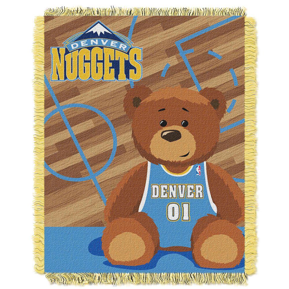 Denver Nuggets Baby Jacquard Throw