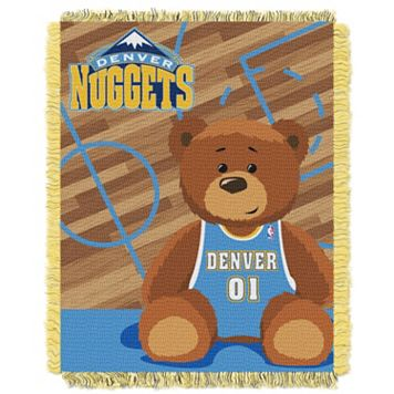 Denver Nuggets Baby Jacquard Throw