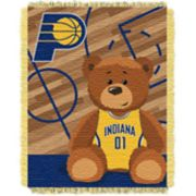 Indiana Pacers Baby Jacquard Throw