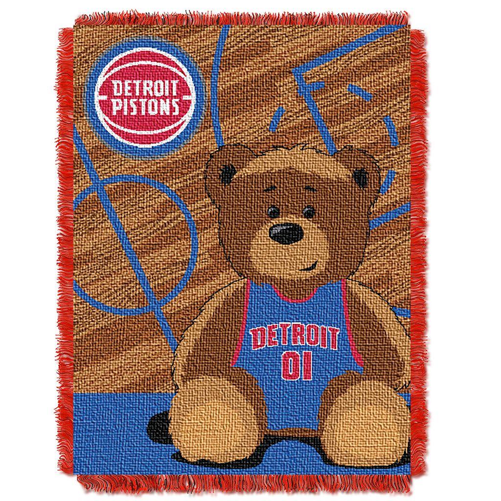 Detroit Pistons Baby Jacquard Throw
