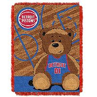 Detroit Pistons Baby Jacquard Throw