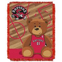 Toronto Raptors Baby Jacquard Throw